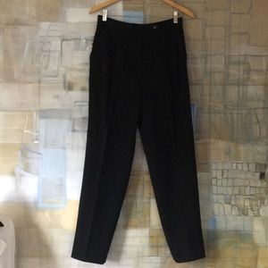 Black Wool Trousers by Alex